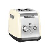 Тостер кремовый, артикул 5KMT221EAC, производитель - KitchenAid