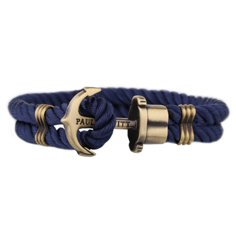 Anchor Bracelet Navy Blue
