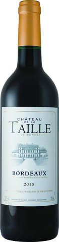 Вино Chateau De La Taille, AOC, 0.75 л
