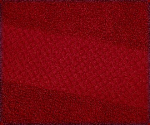 Полотенце 40х75 Mirabello Microcotton красное