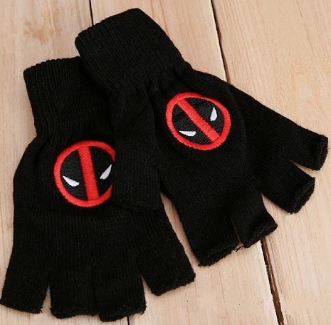 Gloves Superhero Winter Woolen for Children