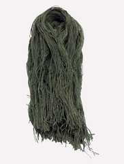 Джут крашенный - тм. зеленый, 400 грамм