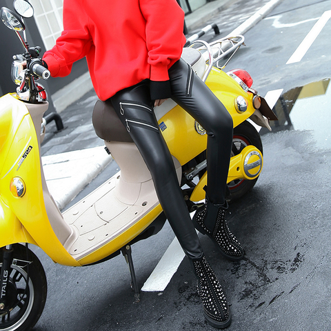 Leather pants «VIATRIS»