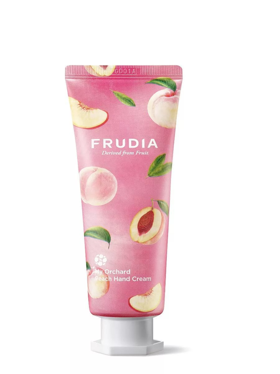 Крем для рук c персиком FRUDIA My Orchard Peach Hand Cream, 80 г