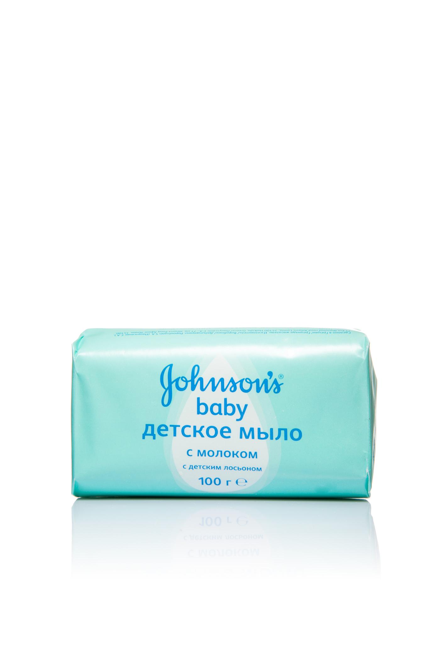 Johnson's Baby Детское мыло с молоком 100 г.
