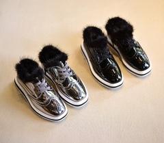 Ботинки лак