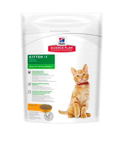 Hill's сухой корм для котят (курица) 400г