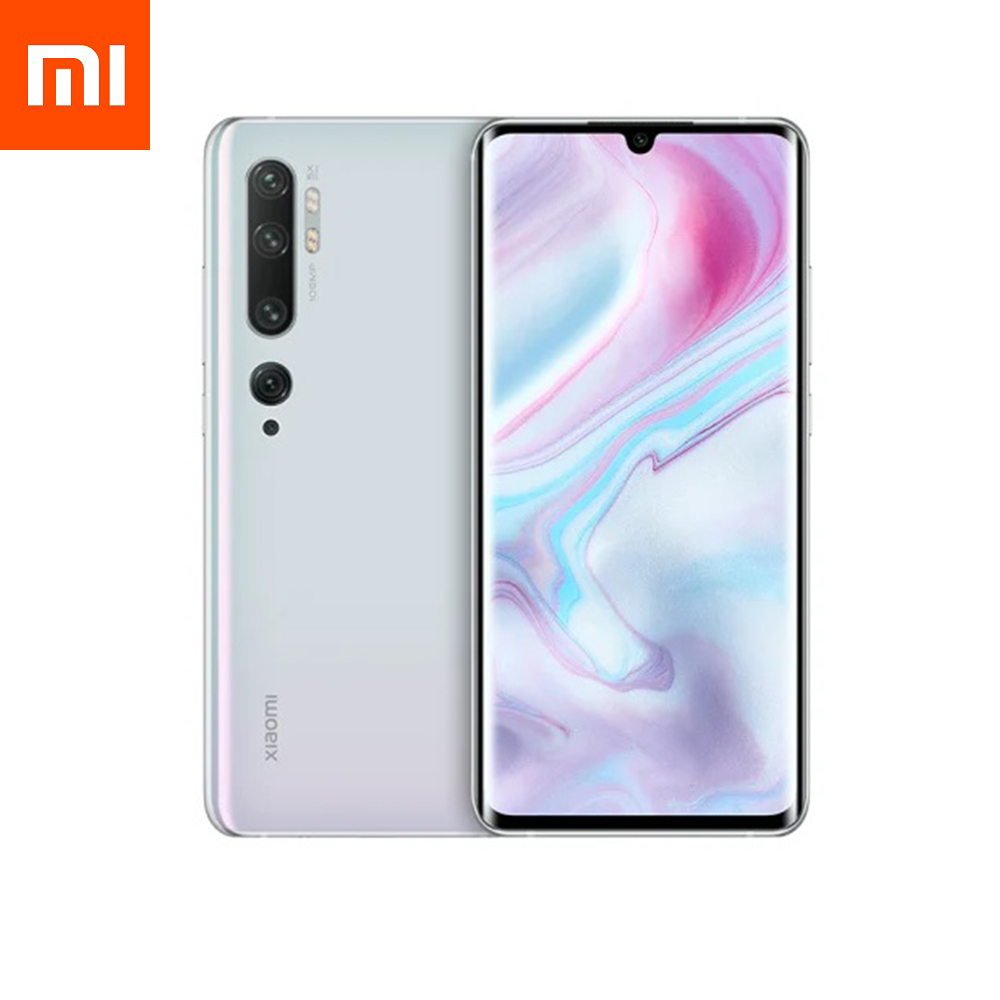 Смартфон Xiaomi Mi Note 10 6/128GB Glacier White EU (Global Version)