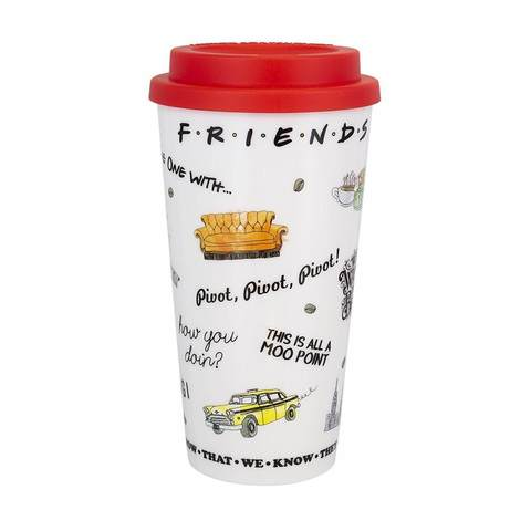 Кружка Paladone Friends Travel Mug PP5565FR