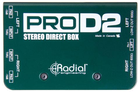 Radial Pro D2 пассивный стерео директ-бокс