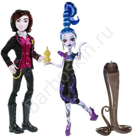 Игровой набор кукол Monster High Валентин и Висп от Комик Кон - Valentine and Whisp SDCC Comic-Con, Mattel