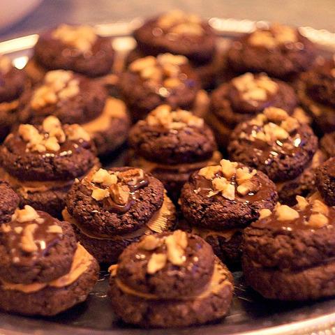 Абрикосово-Фундучное печенье