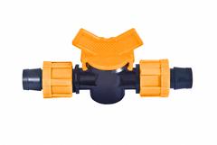 AD 6206 Кран соединительный для капельной ленты Dn17