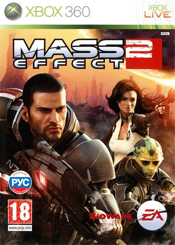 Microsoft Xbox 360 Mass Effect 2 (английская версия)