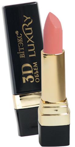 Витэкс Luxury Губная помада 3D Объем тон 404 (винтажный розовый)