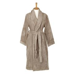 Элитный халат махровый Pera дымчатый от Hamam