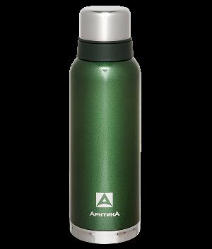 Термос Арктика (1,2 л.) с узким горлом американский дизайн, зелёный*