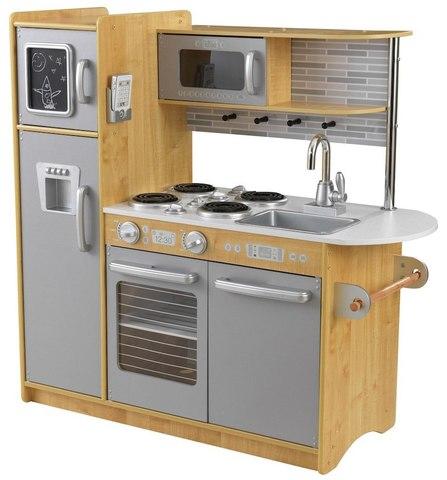 KidKraft Uptown Natural Аптаун (натуральная) - детская кухня 53298