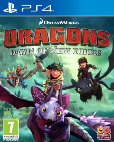 Sony PS4 Dragons: Dawn of New Riders (английская версия)