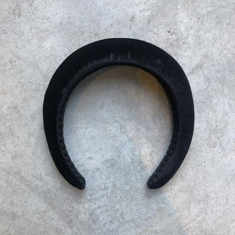 Ободок черный