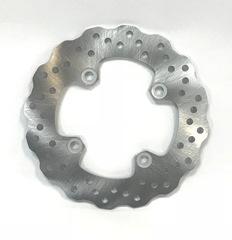Тормозной диск задний для мотоцикла Kawasaki ZX-10R 04-12/ZX-6R 04-12/Ninja 650/ ER-6N