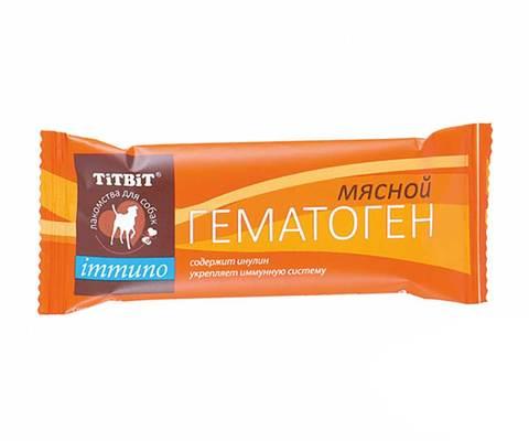 Titbit гематоген мясной immuno