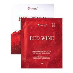 Esthetic House Red Wine Regenerating Solution - Маска гидрогелевая с экстрактом красного вина
