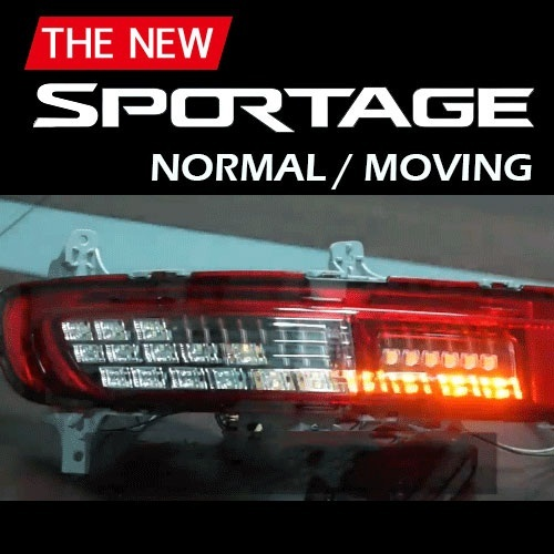 LED-модули задних поворотников - KIA The SUV Sportage (XLOOK) для KIA Sportage IV 2016 - for kia sportage 2011 2012 2013 2014 2015 excellent angel eyes ultra bright illumination smd led angel eyes halo ring kit