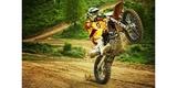 Крепление поворотное SP Swivel Arm Mount в 3-х плоскостях вращения на мотоцикле