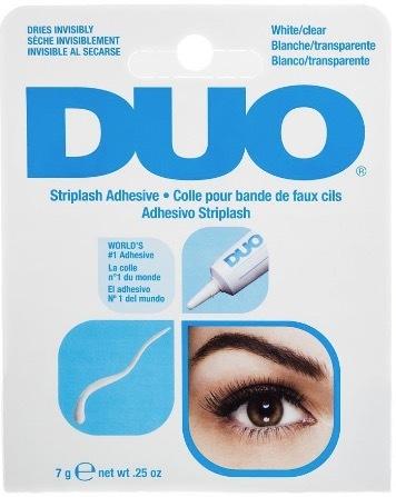 DUO Water Proof Eyelash Adhesive Clear бесцветный клей для накладных ресниц 7г