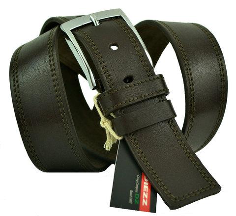 Ремень мужской коричневый джинсовый 40Diezz-p-019