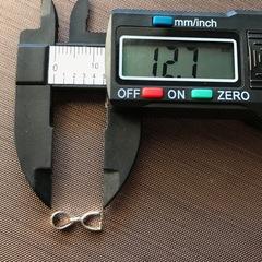 Бейл 13 мм серебро 925 1 шт