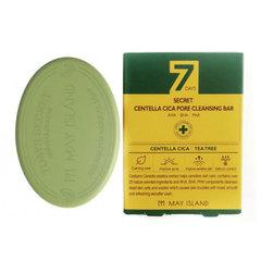 May Island 7 Days Secret Centella Cica Pore Cleansing Bar - Мыло для проблемной кожи