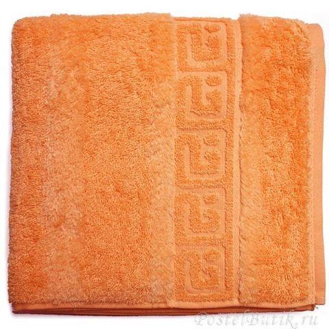 Полотенце 80х160 Cawo Noblesse 1001 ярко-оранжевое