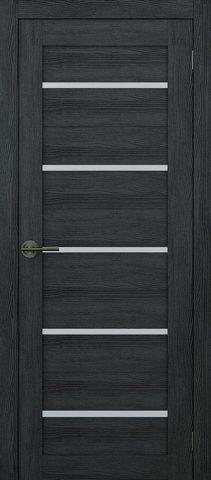 Дверь APOLLO DOORS F6, стекло матовое, цвет дуб серый, остекленная