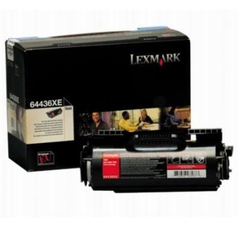 Картридж для принтеров Lexmark T644 черный (black). Ресурс 32000 стр (64436XE)