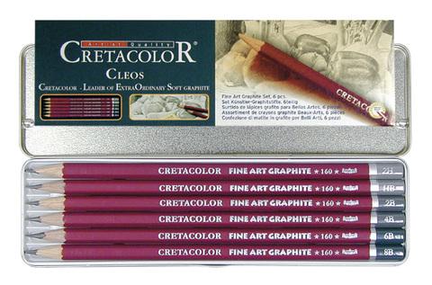 Набор карандашей чернографитных Cretacolor