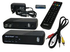 Приемник цифрового эфирного телевидения World Vision T62D