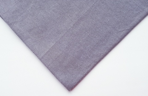 Кулирная ткань (100%- х/б) 15х15см, чайка (темно-серый)