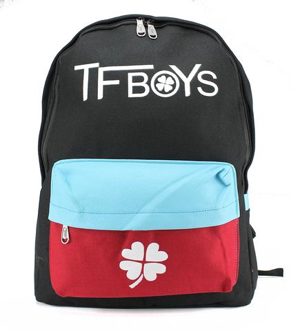 Молодежный рюкзак TFBoys Черный