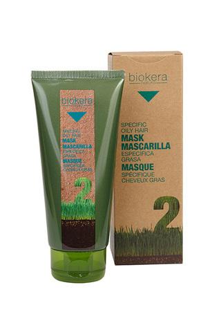 Маска для жирной кожи головы, Biokera,200 мл.