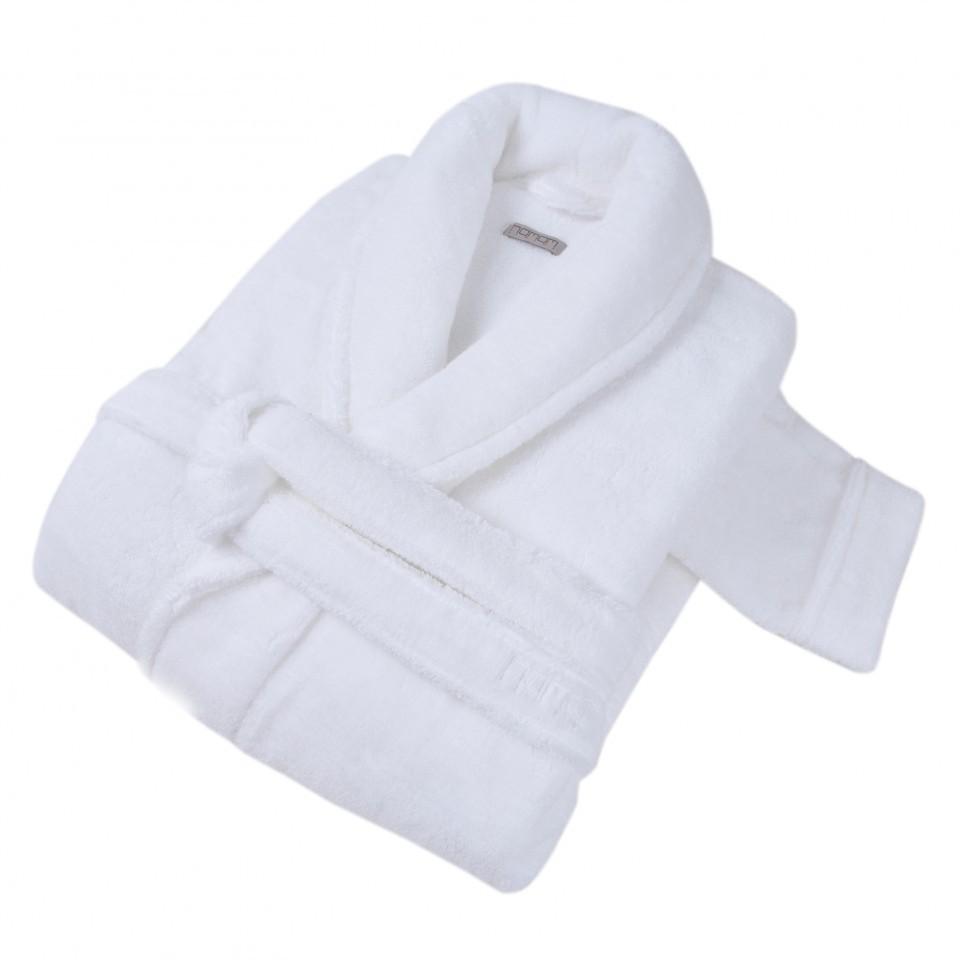 Элитный халат махровый Pera белый от Hamam