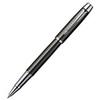 Parker IM Premium - Deep Gun Metal Chiselled CT, ручка-роллер, F, BL