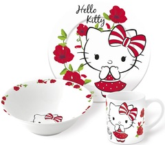 Привет Китти Набор керамической посуды — Posuda Hello Kitty