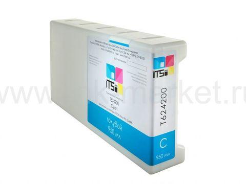 Совместимый картридж для Epson Stylus Pro GS6000 Cyan 950 ml T624200 Solvent based (T624200)