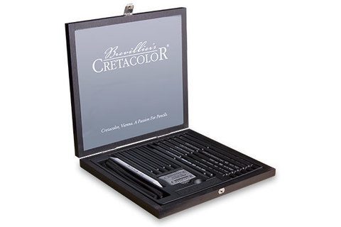 Набор карандашей для рисунка Cretacolor Black Box 20 шт