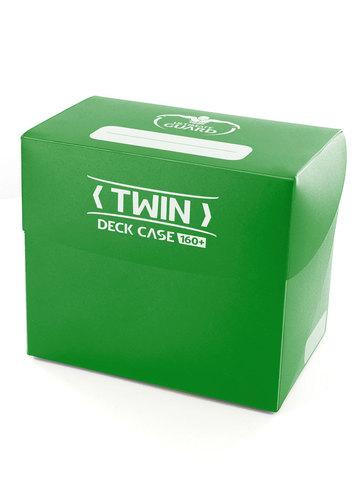 Ultimate Guard - Зеленая коробочка для двух колод Twin