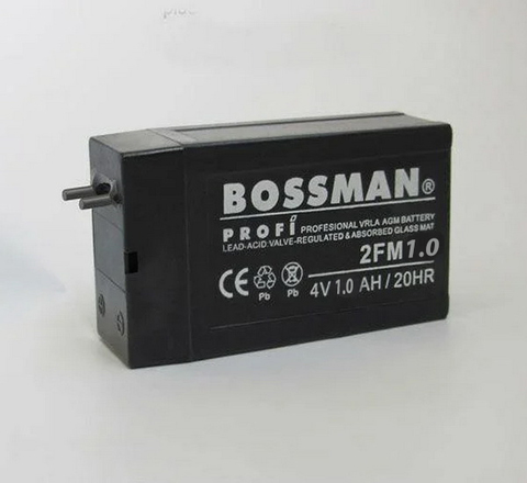 Аккумуляторы Bossman 4V 1.0A