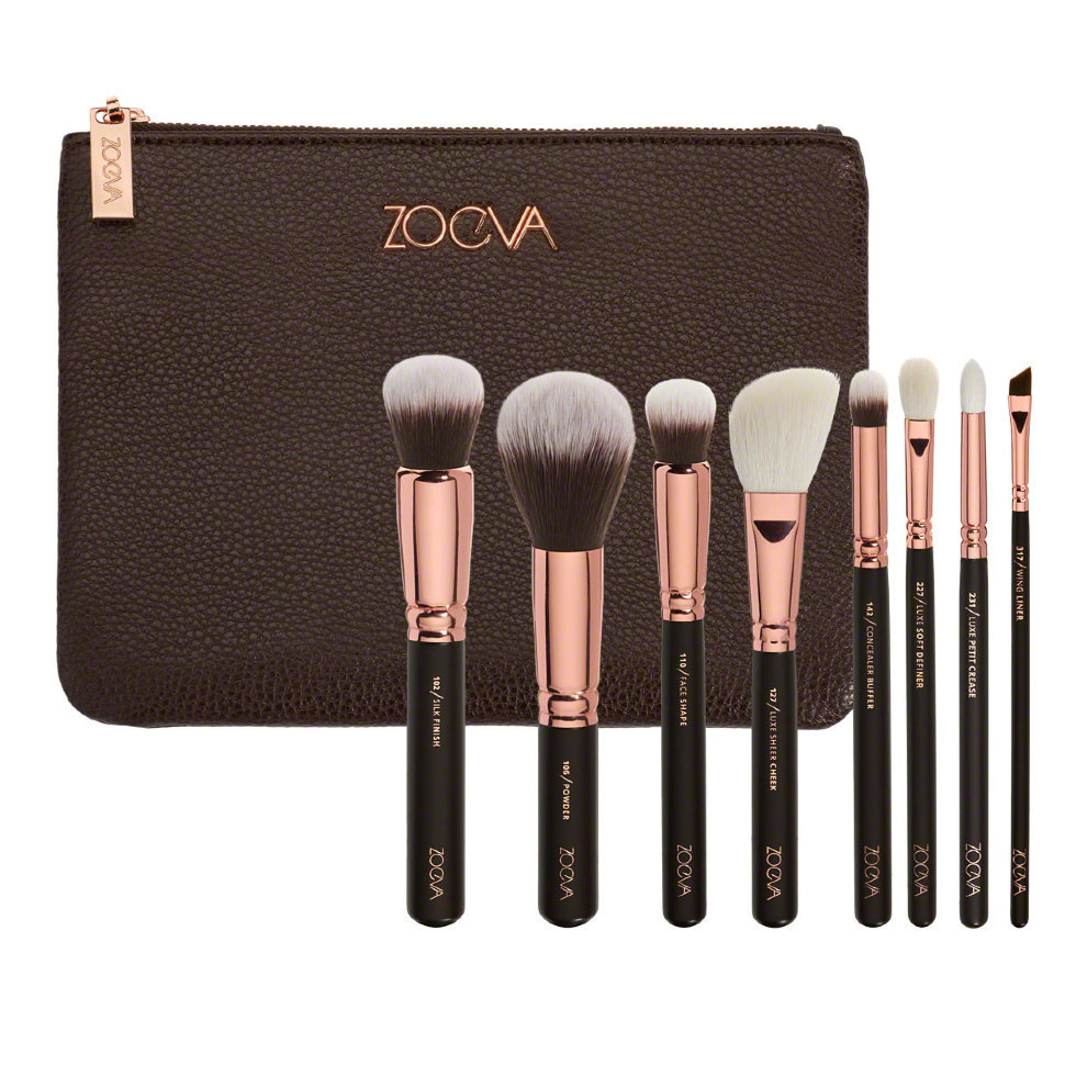 Набор кистей Zoeva ROSE GOLDEN LUXURY SET