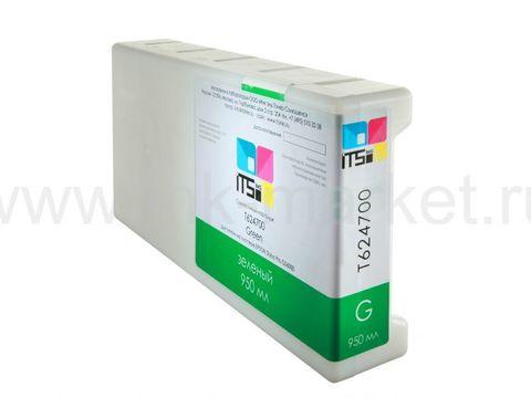 Совместимый картридж для Epson Stylus Pro GS6000 Green 950 ml T624300 Solvent based (T624300)